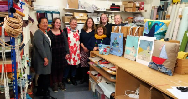Sewing workshops for free motion embroidery