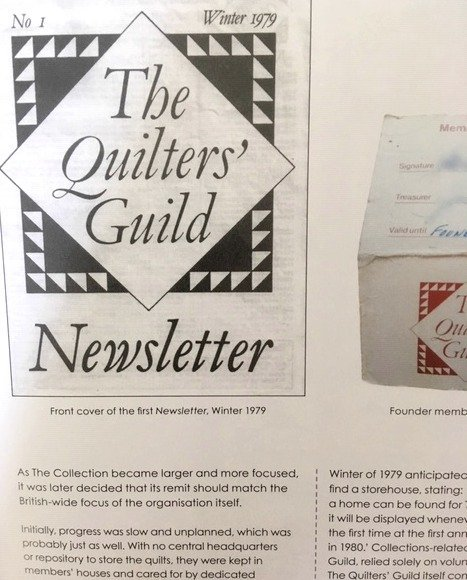 A history of the Quilter's Guild of the British Isles
