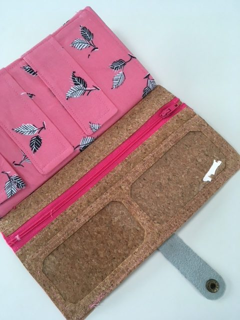 Sew a cork wallet