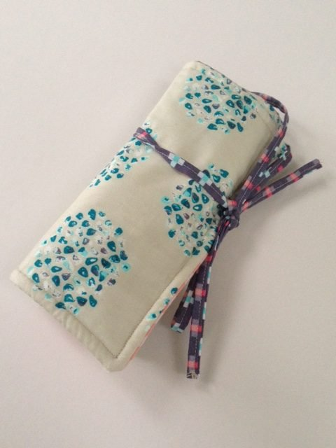 Tutorial for a sewing tool roll