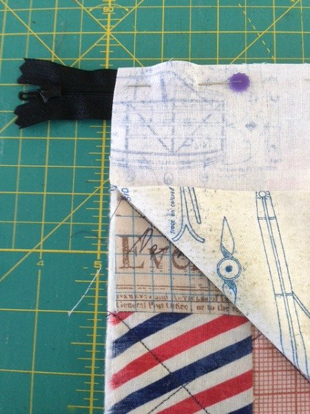 Easy projects for sewing zips