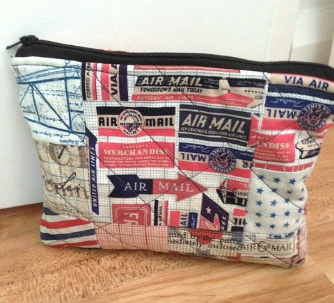 Zippered pouch project