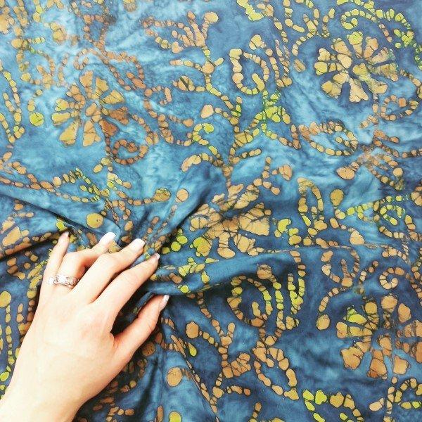 The history of batik fabrics