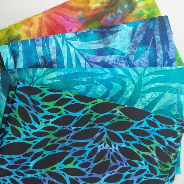 Tips for sewing with batik fabrics