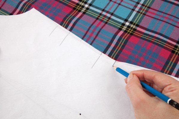Working with patterned fabrics