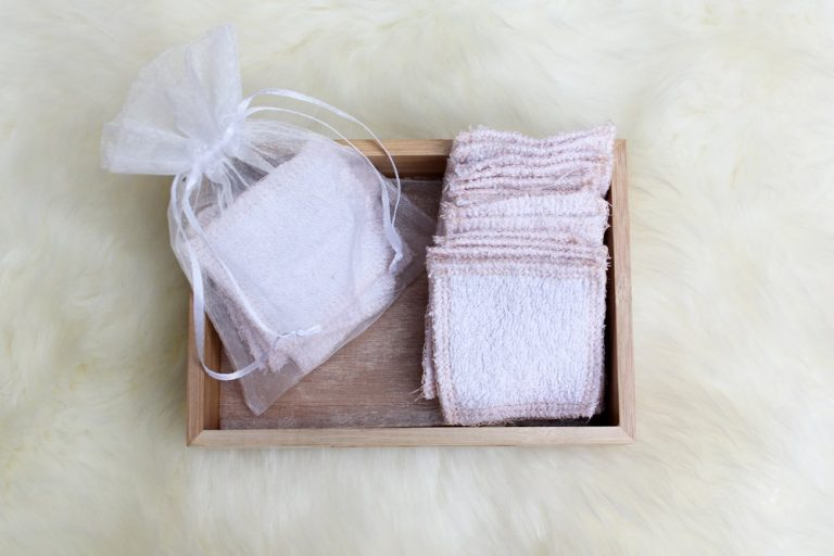 Sew your own make up remover pads