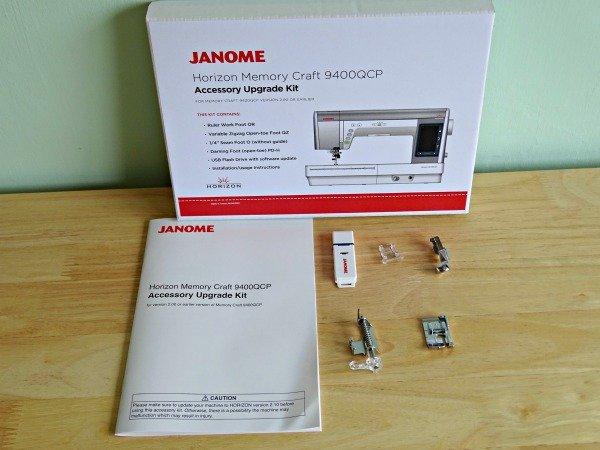 Janome MC9400QCP upgrade