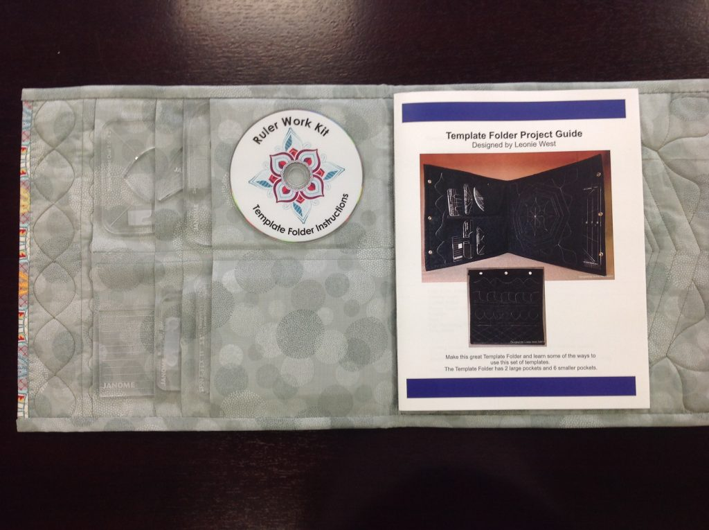 Janome quilting ruler case project