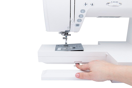How to change the needle plate on your Janome sewing machine
