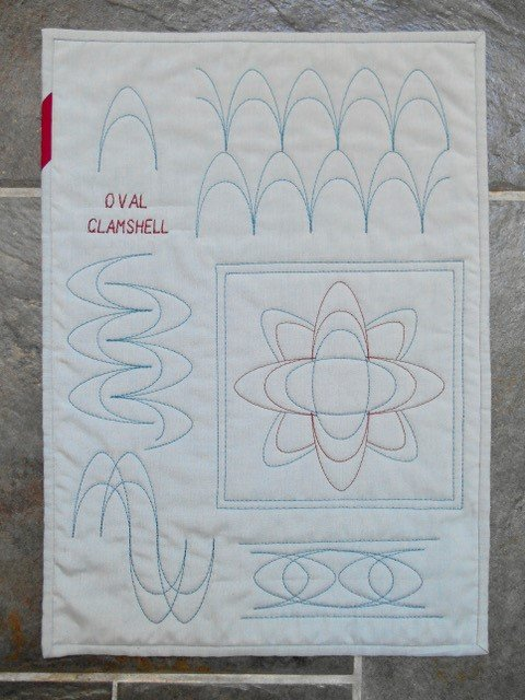 how to do clamshell quilting