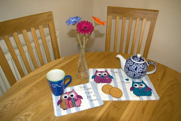 Sew some tablemats and coasters