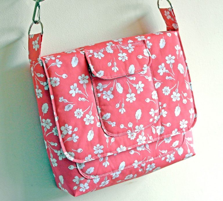 Free padded satchel tutorial