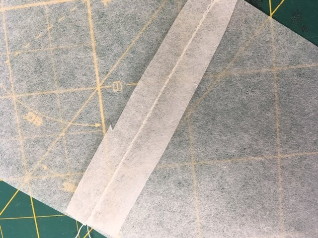 Sewing a toile with Patterntrace