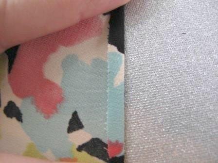 How to sew a hem