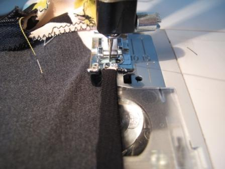 Sewing tips and tricks - curved hems