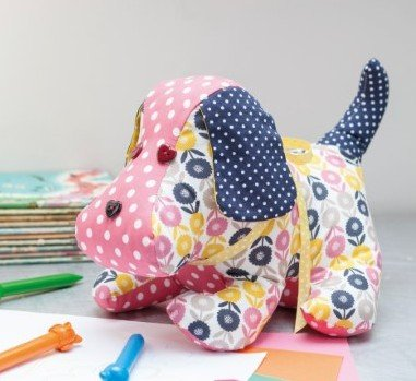 How to sew a toy dog