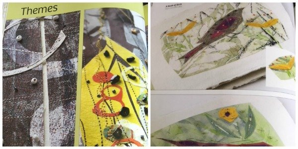 Book review - Stitched Textiles: Nature