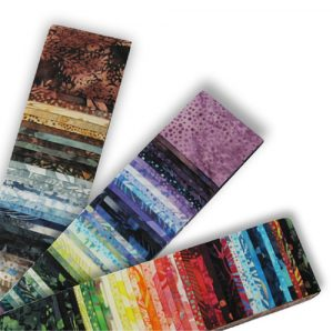 Batik fabrics for quilters