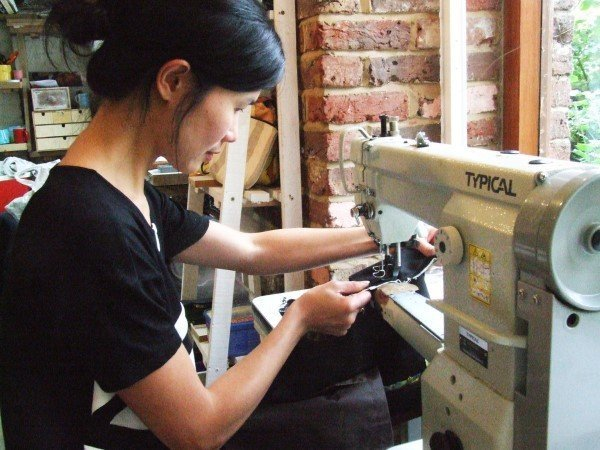 Learn how to sew leather