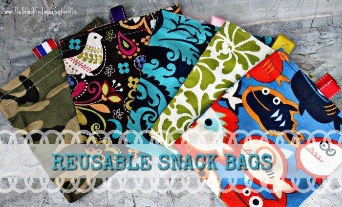 Sew to save using plastic