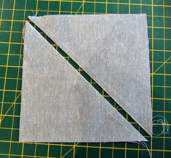 Sew half square triangles