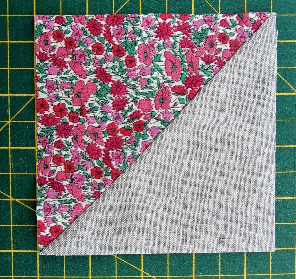 Making patchwork cushions