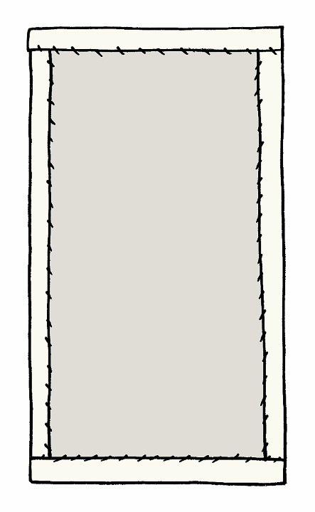 Binding a quilt - tutorial
