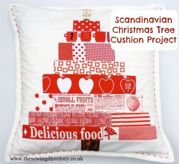 Scandi style Christmas cushion tutorial