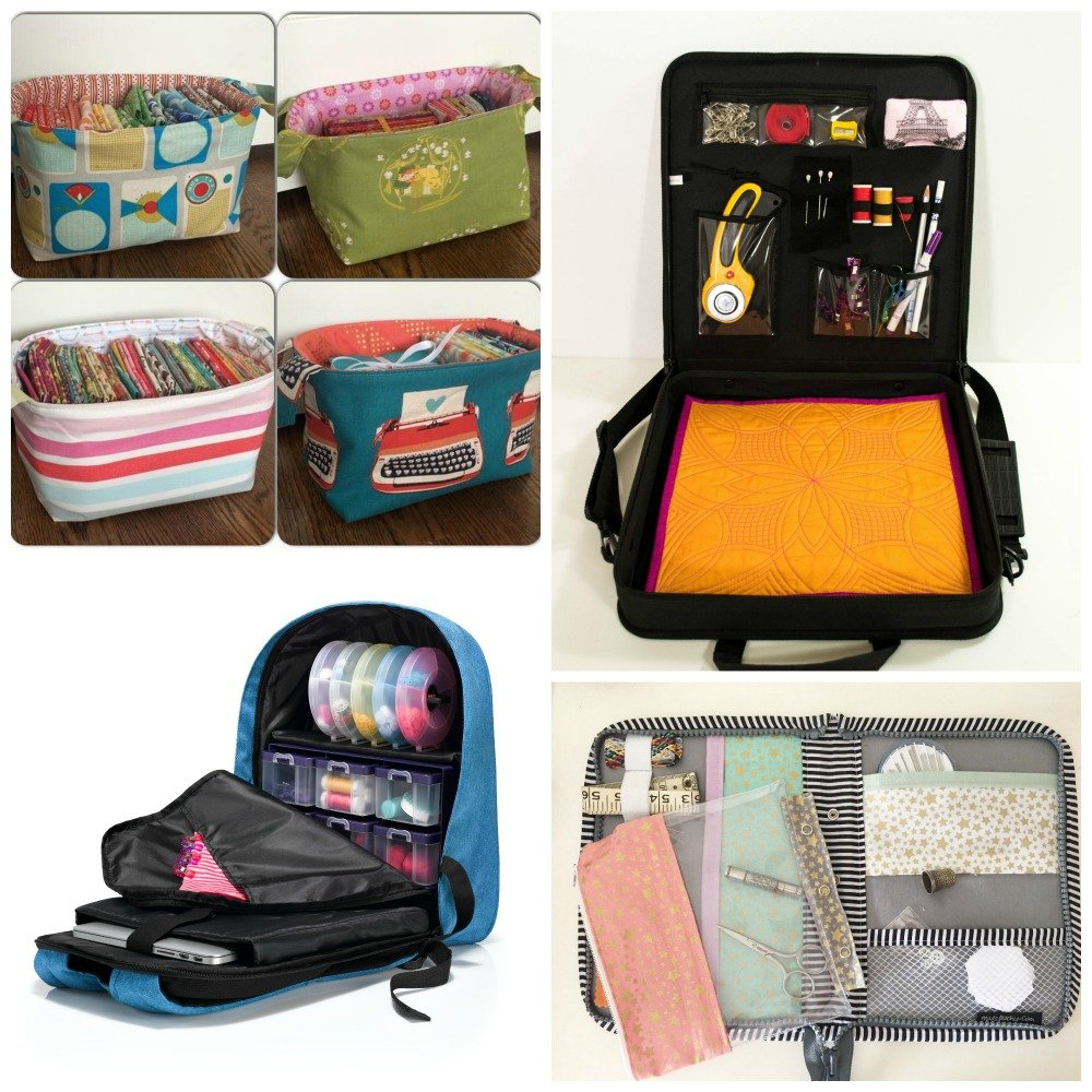 Travel sewing storage solutions