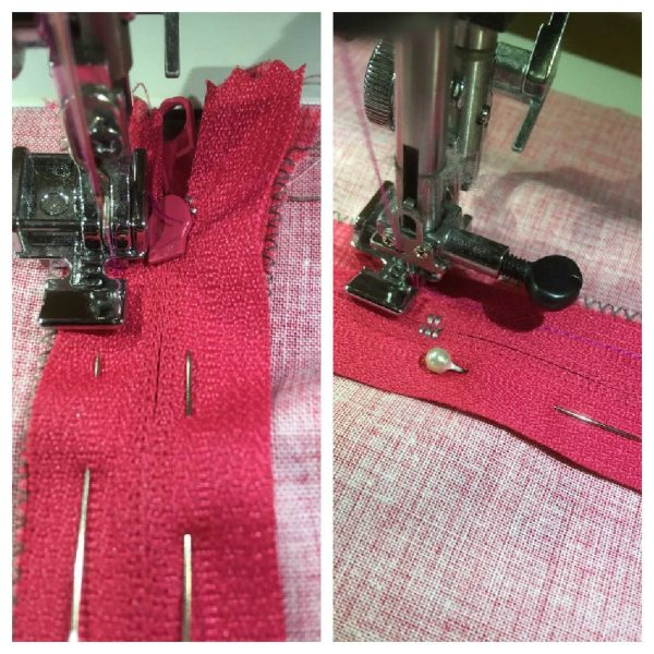 How to use a zipper foot on your sewing machine