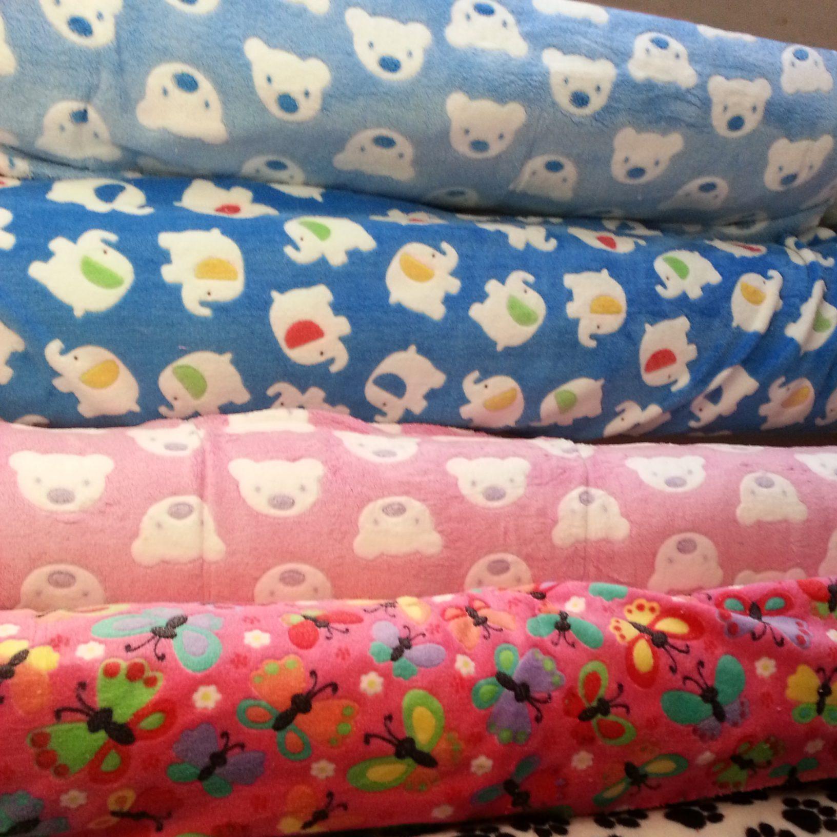 Handling and sewing cuddle fleece