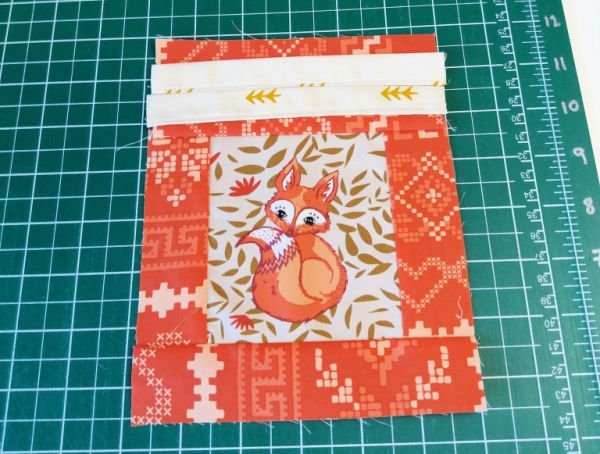 Fussy cut sewing projects