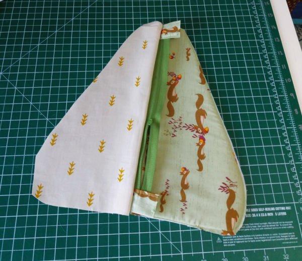 Large scissor case pattern