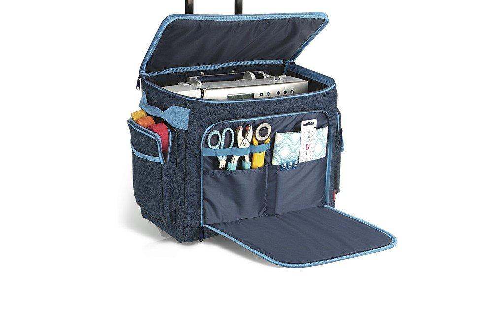 Travel sewing machine bag
