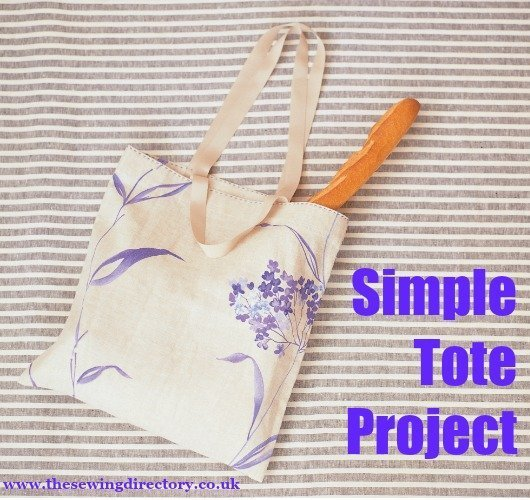 Sew a simple tote bag