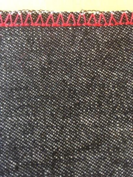 How to machine sew a single fold hem