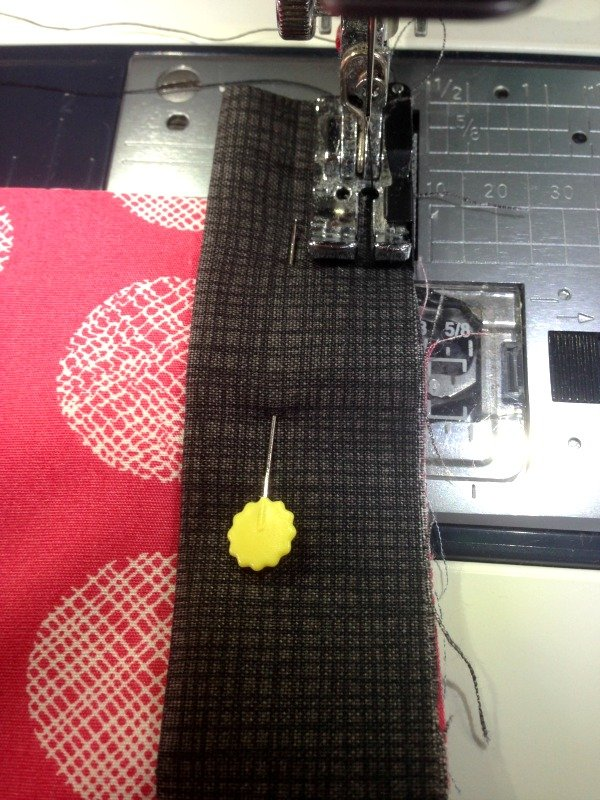How to sew binding by machine