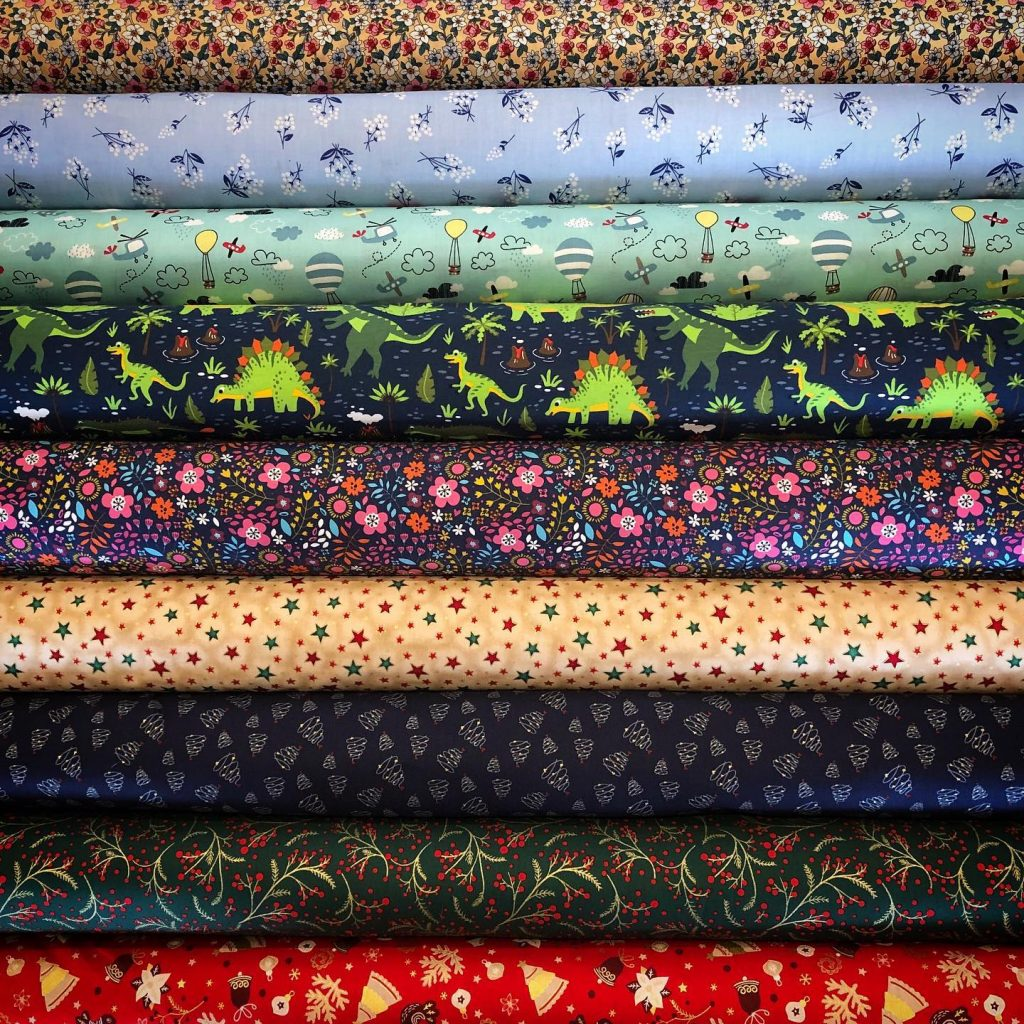 Quilting cottons from Timeless Fabrics