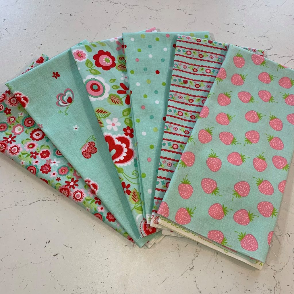 Villavin quilting kits and fabric