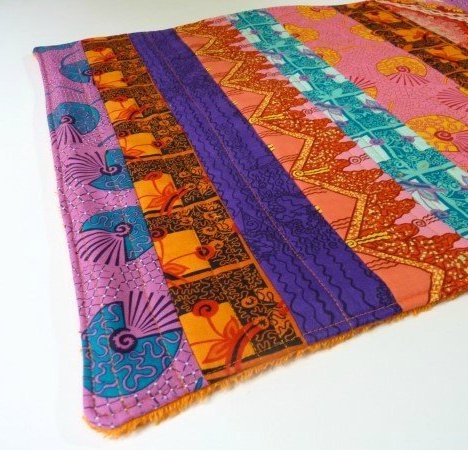 Quilted bathmat project