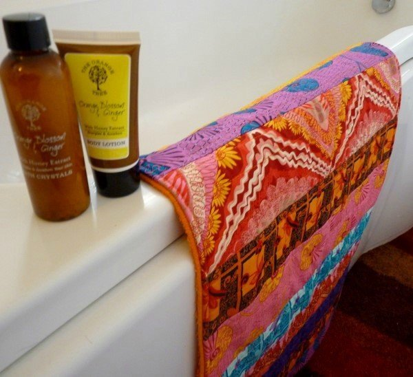 Quilt as you go bathmat to sew