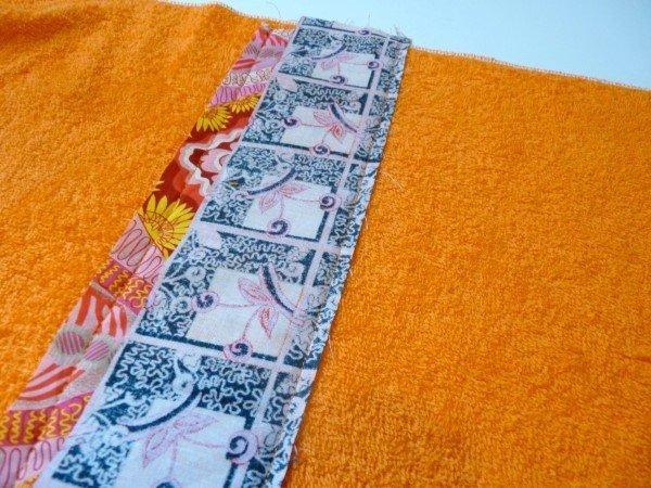 Sew a patchwork bathmat