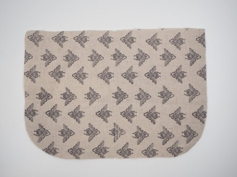 Stamping onto fabric