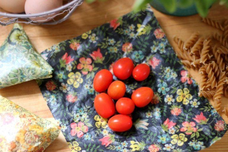 Beeswax food wrap tutorial