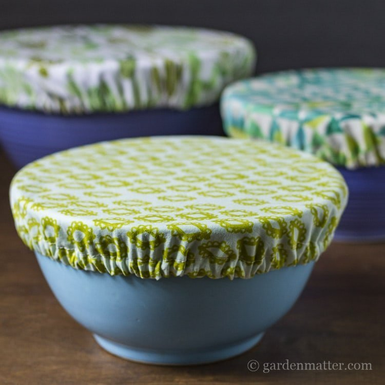 Cut plastic use by sewing food storage items