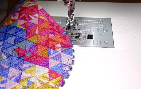 Clipped curves for sewing