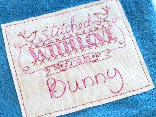 Making handmade labels