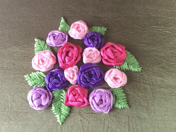 How to make woven roses