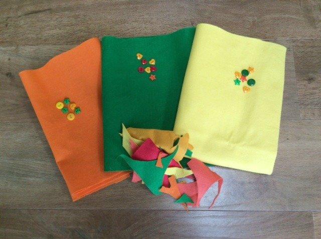 Felt and craft supplies from Minerva Crafts