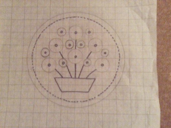 Design for slower embroidery